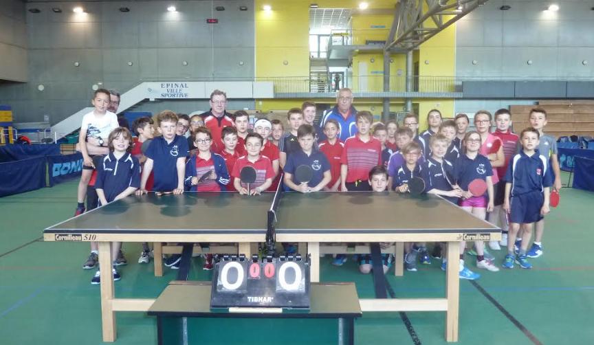 Championnat jeunes 5 journ e s r d tennis de table - Championnat departemental tennis de table ...